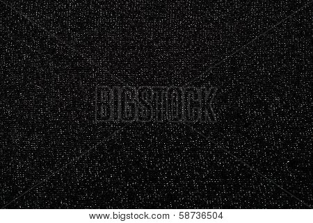 Black Fabric With Brocade