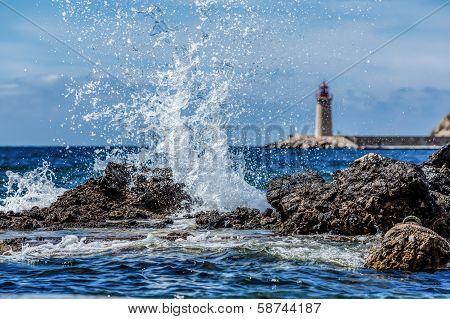 Crashing Waves in Spain