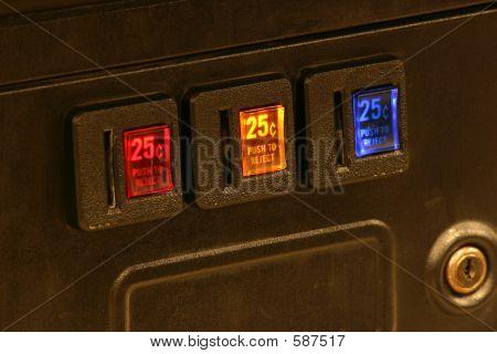 Arcade Coin Slots