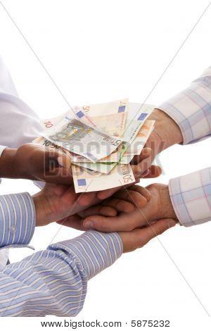 Receber o dinheiro