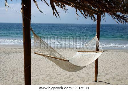 Hamaca con vistas al océano