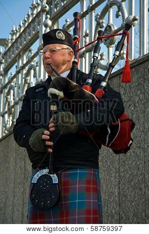Bag Pipe Musician