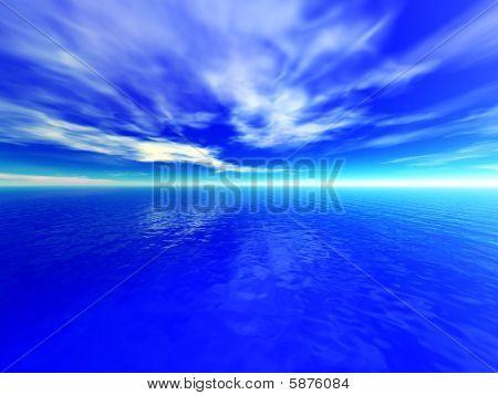 Ocean Cloudy