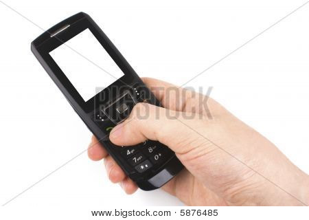Mobile phone.