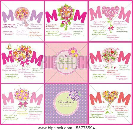 Cards for Mother's Day