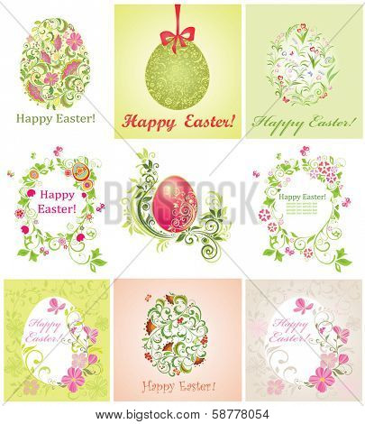 Easter greeting beautiful cards