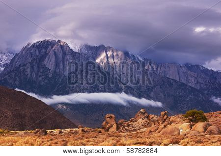 Alabama Hills, Sierra Nevada Mountains, California, USA