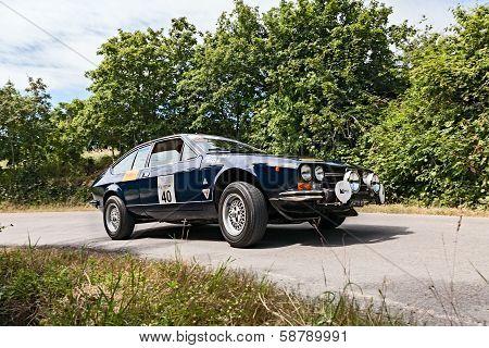Vintage Car Alfa Romeo Gtv 2000