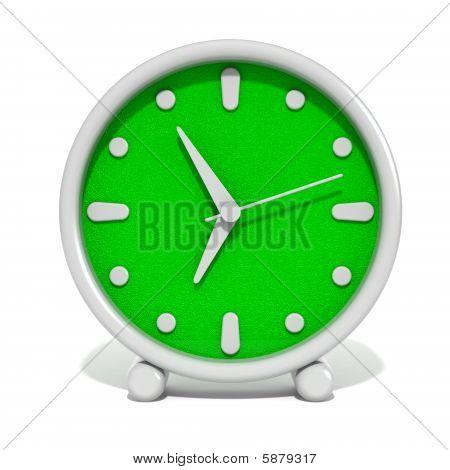 Relógio despertador plástico