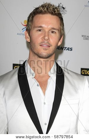 LOS ANGELES - JAN 11:  Ryan Kwanten at the  2014 G'Day USA Los Angeles Black Tie Gala at JW Marriott Hotel at L.A. LIVE on January 11, 2014 in Los Angeles, CA