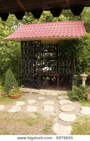 Stylised Chinese Arbour