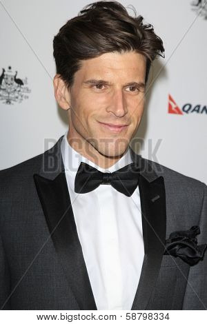 LOS ANGELES - JAN 11:  Osher Gunsberg at the  2014 G'Day USA Los Angeles Black Tie Gala at JW Marriott Hotel at L.A. LIVE on January 11, 2014 in Los Angeles, CA