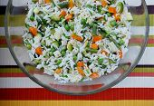 Vegetarian Rice Salad