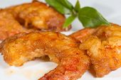 picture of grout  - Prawns breaded shrimp with a homemade grout