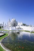 White Temple and Fish.