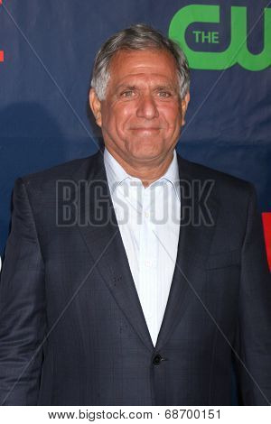 LOS ANGELES - JUL 17:  Les Moonves at the CBS TCA July 2014 Party at the Pacific Design Center on July 17, 2014 in West Hollywood, CA