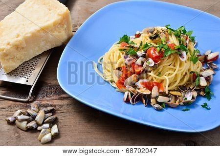 Spaghetti With Cockles