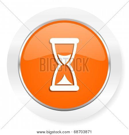 time orange computer icon
