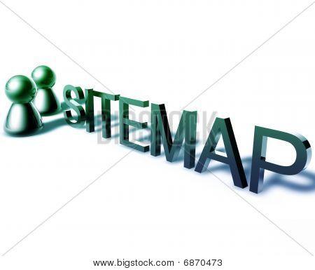 Sitemap Word Graphic