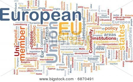 European Union Word Cloud