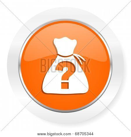 riddle orange computer icon