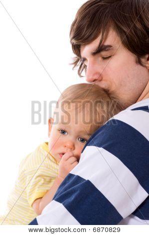Vater Holding Kind