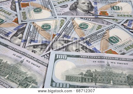 Unites States money background