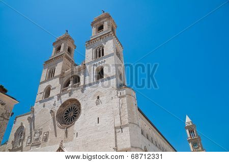 Duomo Cathedral of Altamura. Puglia. Southern Italy.