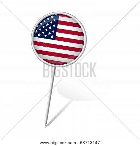 Pin Round - United States