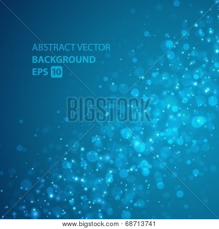 Light vector background