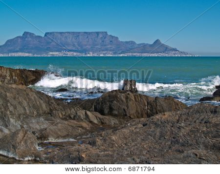 Table Top Mountain, Cape Town South Africa.