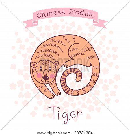 Chinese Zodiac - Tiger