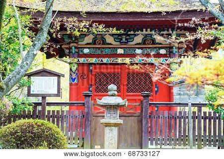 Sanjeong Temple With Nice Sakura At Spring Season