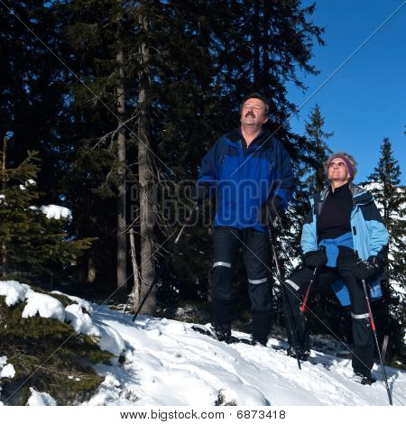 Active Seniors In The Alps