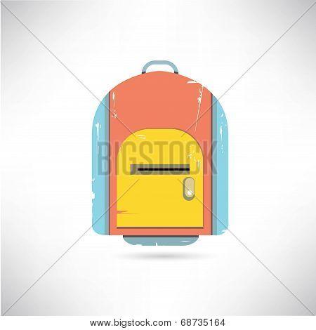 knapsack, school bag