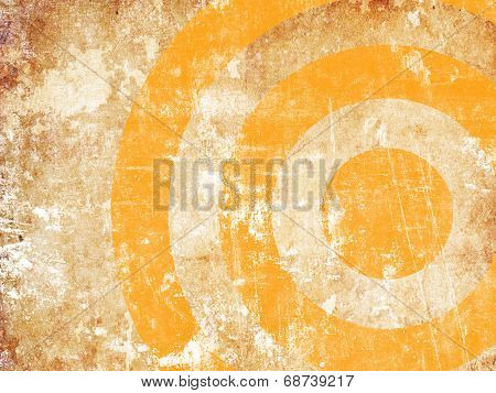 Abstract Grunge Target
