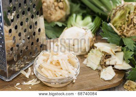 Portion Of Celeriac Salad