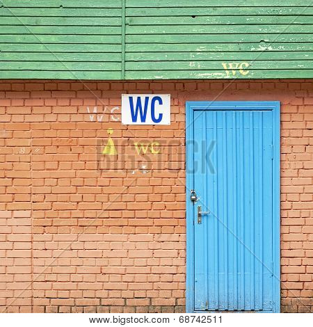 A public wc.
