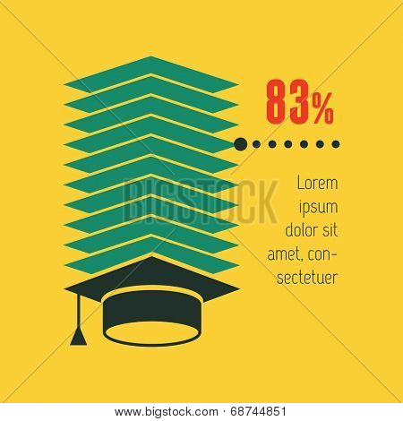 Education Infographic Element