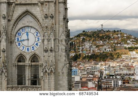 Quito, Capital City Of Ecuador
