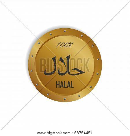 Halal Label Sticker