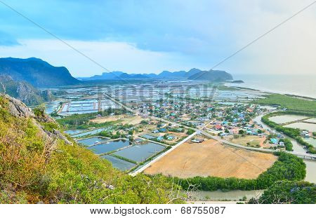 Aerial View From Khao Dang