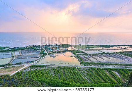 Aerial View From Khao Dang, Prachuap Khiri Khan, Thailand