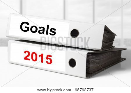 Office Binders Goals 2015