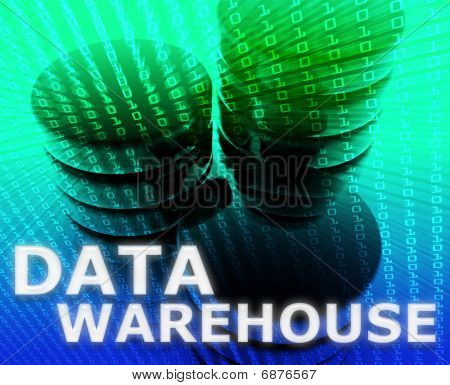Data Warehouse Illustration