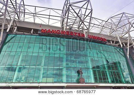 Manchester United stadium.