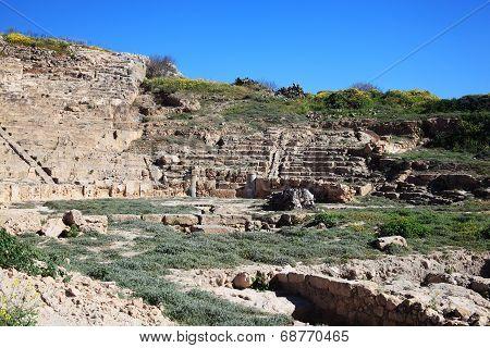 Roman Amphitheatre, Paphos, Cyprus