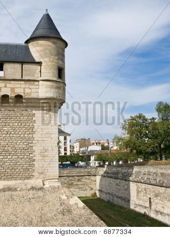 Vincenes Castle Tower In Paris