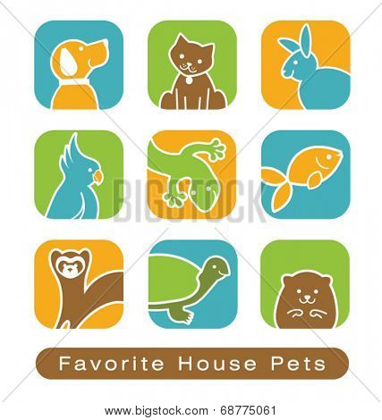 House Pet Icons