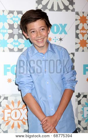 LOS ANGELES - JUL 20:  Griffin Gluck at the FOX TCA July 2014 Party at the Soho House on July 20, 2014 in West Hollywood, CA